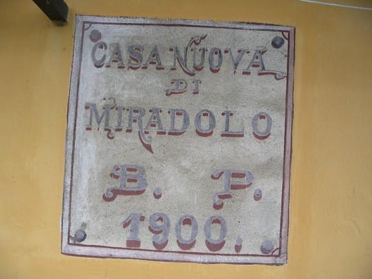 Casanuova di Miradolo. Clicca per la prossima.